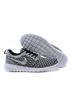 Кроссовки Nike Roshe Run Flyknit London Grey (О-521)