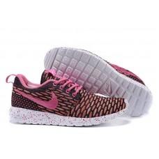 Кроссовки Nike Roshe Run Flyknit London Pink (О-521)