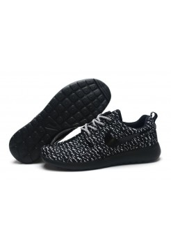 Кроссовки Nike Roshe Run Flyknit Turtle Black (О-514)
