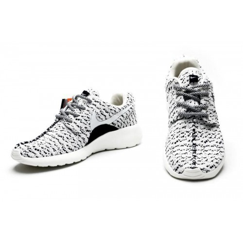 Кроссовки Nike Roshe Run Flyknit Turtle Grey (О-511)