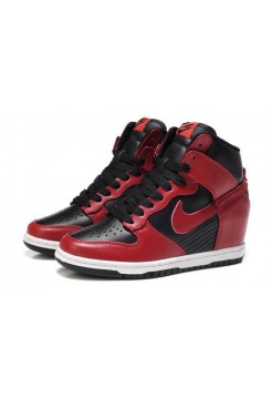 Кроссовки Nike Sneakers Dunk Sky Red Black (О-217)
