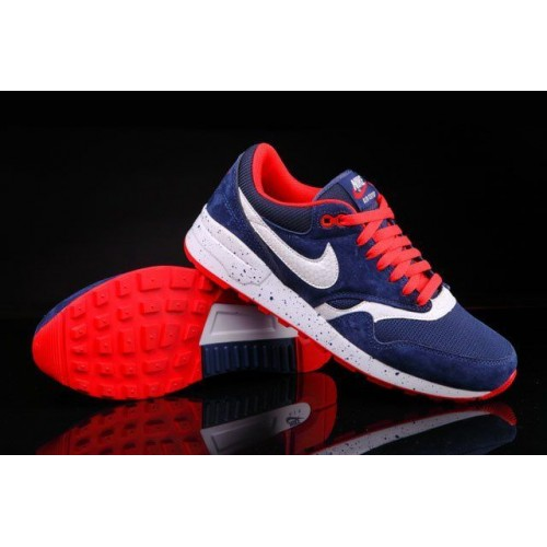 Кроссовки Nike Air Odyssey Navy Blue White Red (О-324)