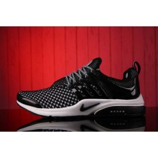 Кроссовки Nike Air Presto Flyknit Weaving Black White (О-211)