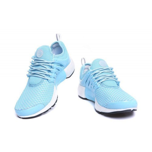 Кроссовки Nike Air Presto Flyknit Weaving Light Blue (О-213)