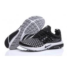 Кроссовки Nike Air Presto Flyknit Weaving Grey Black (О-215)