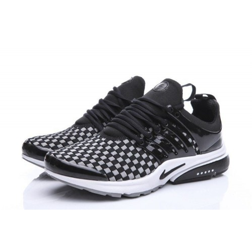Кроссовки Nike Air Presto Flyknit Weaving Grey Black (О-215)