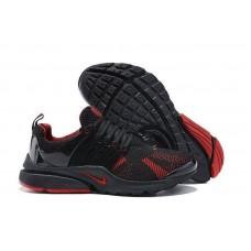 Кроссовки Nike Air Presto Flyknit Black Red (О-216)