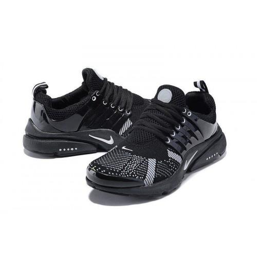 Кроссовки Nike Air Presto Flyknit Black Grey (О-217)