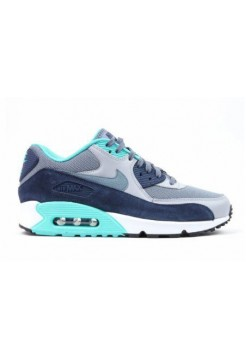 Кроссовки Nike Air Max 90 Essential Blue Graphite Wolf Grey (ОА-321)
