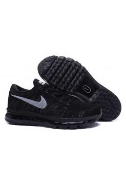 Кроссовки Nike Air Max Flyknit Black (ОЕ621)