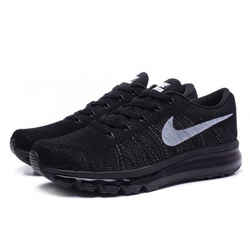 Кроссовки Nike Air Max Flyknit Black (ОЕ621)