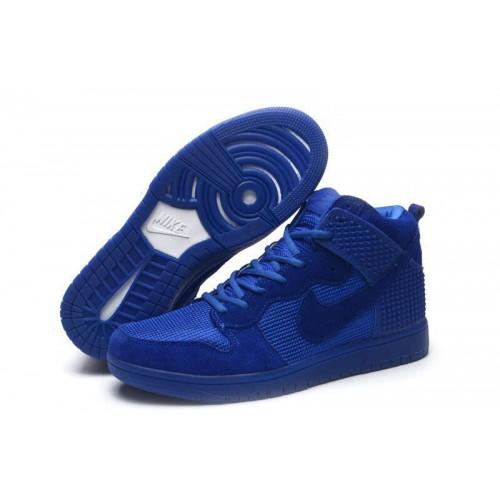 Кроссовки Nike Dunk CMFT Premium Navy (О-325)