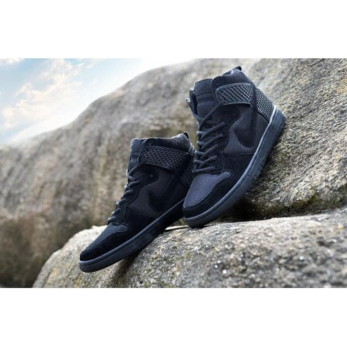 Кроссовки Nike Dunk CMFT Premium Black (О-321)