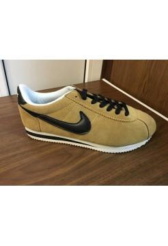 Кроссовки Nike Cortez Коричневый (О-244)