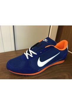 Кроссовки Nike Cortez Синие (О-241)