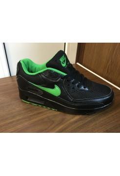 Кроссовки Nike Air Max 90 Черные (О-127)