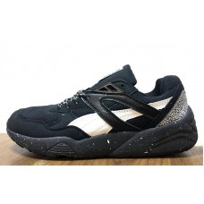 Кроссовки Puma Trinomic R698 Black Snow Pack (O-411)