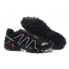 Кроссовки Salomon Speedcross 3 Черные (О-352)
