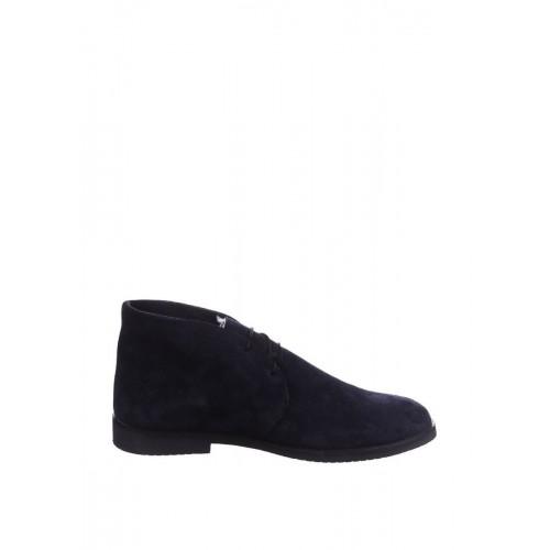Ботинки Celio Guzzi Desert Boots Winter Suede Navy Blue (О-215)