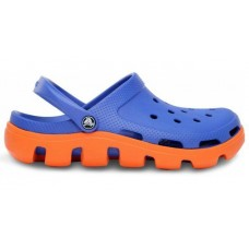 Crocs Duet Sport Clog Blue Orange
