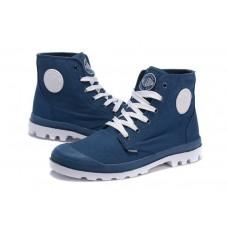 Ботинки Palladium Pampa Hi Blue (О-214)