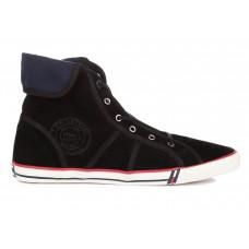 Кеды T&J Shoes Company Высокие Черные (О-323)