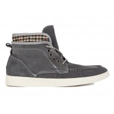 Кеды T&J High Top Grey (О-332)