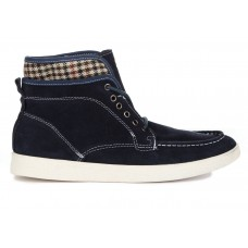 Кеды T&J High Top Navy Blue (О-334)