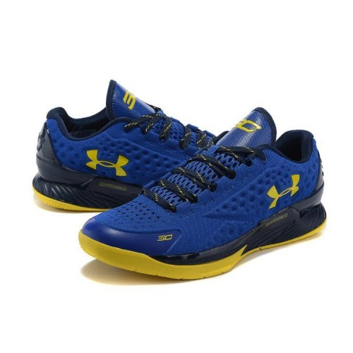 Кроссовки Under Armour Curry One Low SC30 Nation Royal Gold