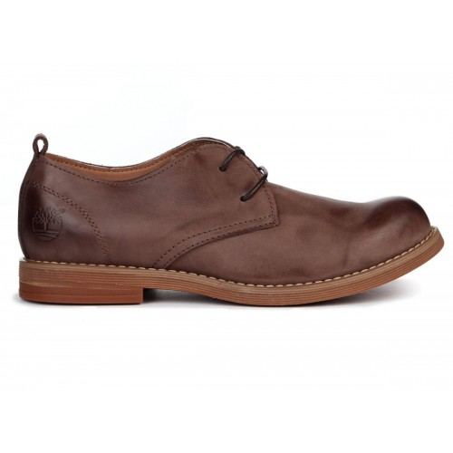 Туфли Timberland Hartwick Plain Toe Oxford Brown Kors (О421)
