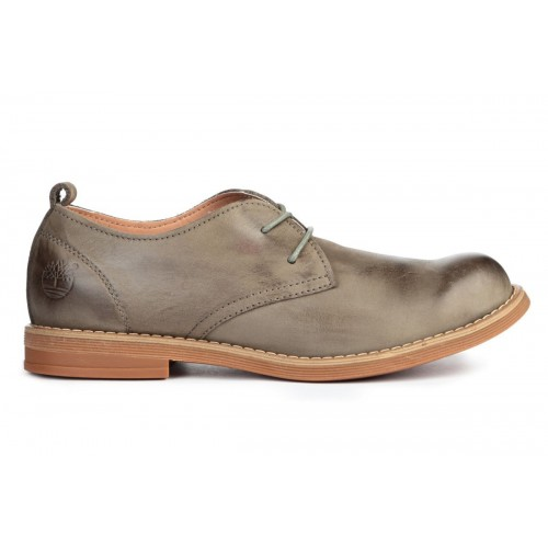 Туфли Timberland Hartwick Plain Toe Oxford Grey Kors (О452)