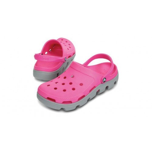 Crocs Duet Sport Clog Rose Grey