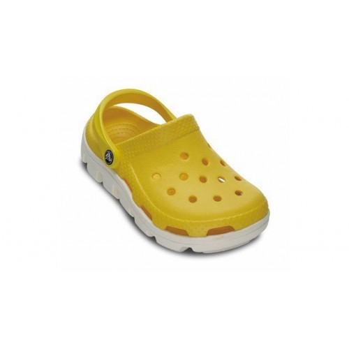 Crocs Classic Cayman Yellow White