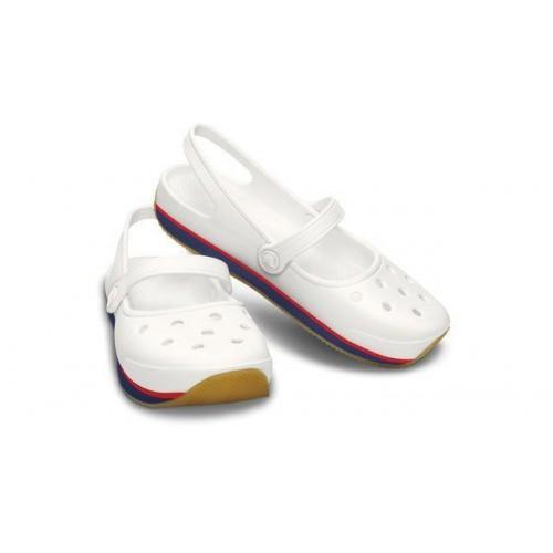 Crocs Flats White