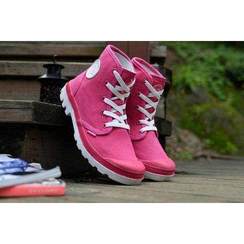 Ботинки Palladium Pampa Hi Pink (О-222)
