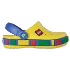 Шлепанцы Crocs Crocband Lego Yellow