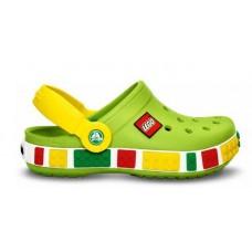 Шлепанцы Crocs Crocband Lego Green