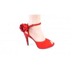 Босоножки Yves Saint Laurent Красные