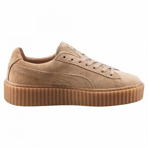 Кроссовки Puma Rihanna Бежевый (МЕО235)