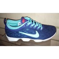 Кроссовки Nike Zoom Сине-Бирюза (M-623)