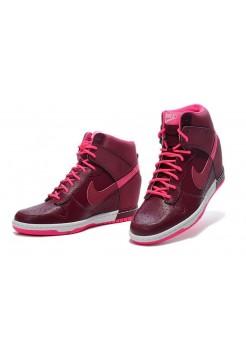 Кроссовки Nike Dunk Sky Бордовые (М-361)