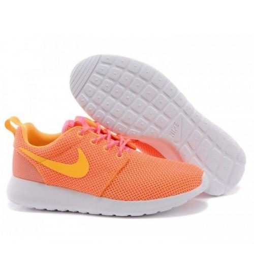 39e7ac4b Кроссовки Nike Roshe Run Оранжевый (М-512) - Интернет магазин