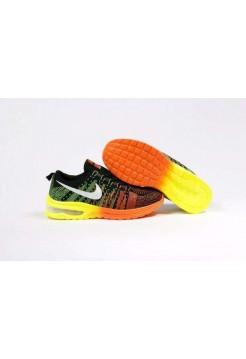Кроссовки Nike Free Everyday Черно/оранжевый (М-362)