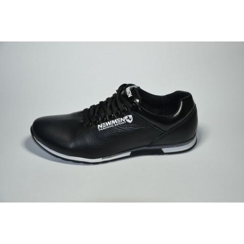 Кроссовки NewMen Черные (Y-412)