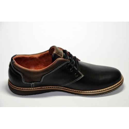 Туфли Ecco Черные (Y-414)