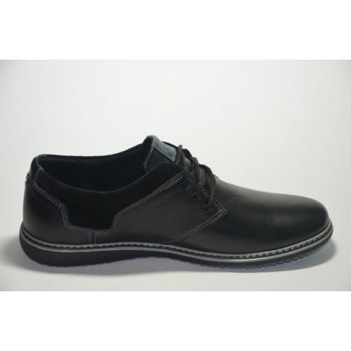 Туфли Ecco All Черные (Y-415)