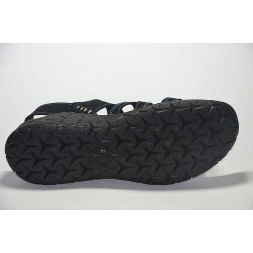 Сандалии Adidas Черные (Y-313)
