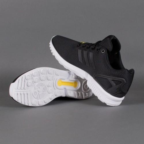 Кроссовки Adidas Zx Flux Black (Е-147)