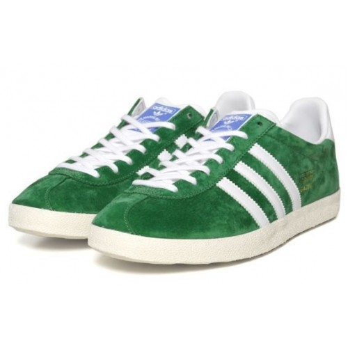 Кроссовки Adidas Gazelle Green (Е-314)