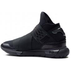 Кроссовки Adidas Y-3 Qasa Black (E-213)